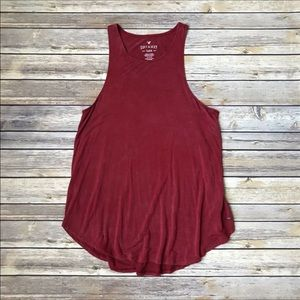 American Eagle Soft & Sexy Faded Red Tank